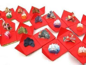 ハート 折り紙 : 折り紙でお雛様 : blog.goo.ne.jp
