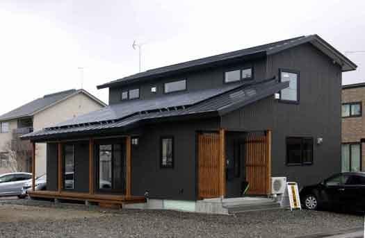 町屋に通じるZEHin北海道幕別