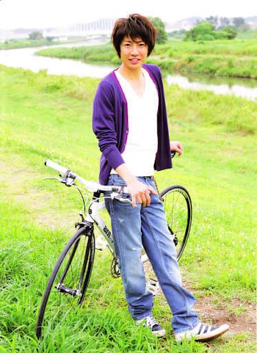 自転車も似合うよ相葉雅紀