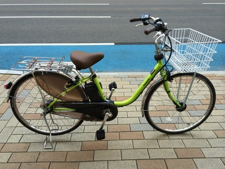 ... 電動アシスト自転車