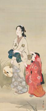 池田蕉園「ほたる」 *後期展示 展示は前後期の二期制。ごく一部の作品を... 「ジャパン・ビュー