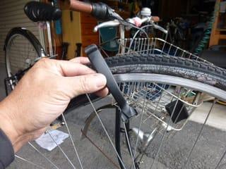 自転車の 自転車 タイヤ交換 前輪 : 自転車 WO タイヤの交換 - Kinoの ...