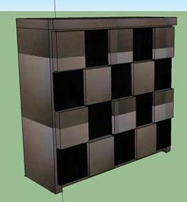 複雑な家具も3Dで再現