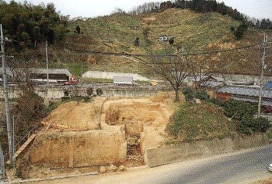 発掘時のハミ塚