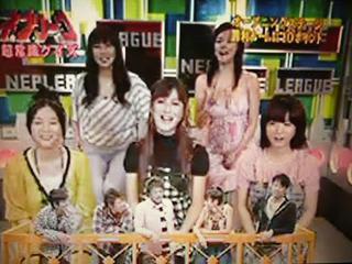 吉田小江子:腹黒いじゃないですか! インテリチーム:あ~腹黒い、腹黒い... TV「ネプリーグ」