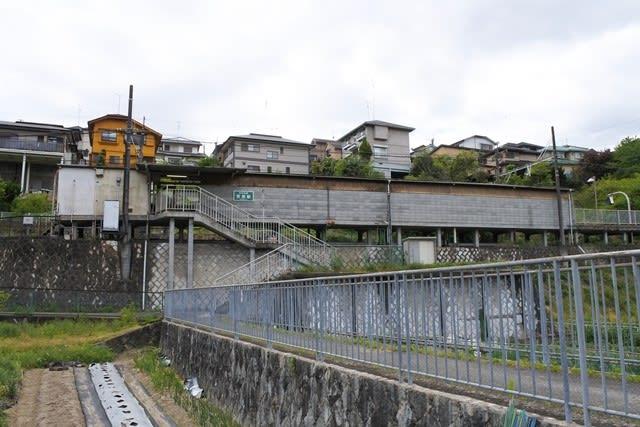 能勢電鉄妙見線笹部駅