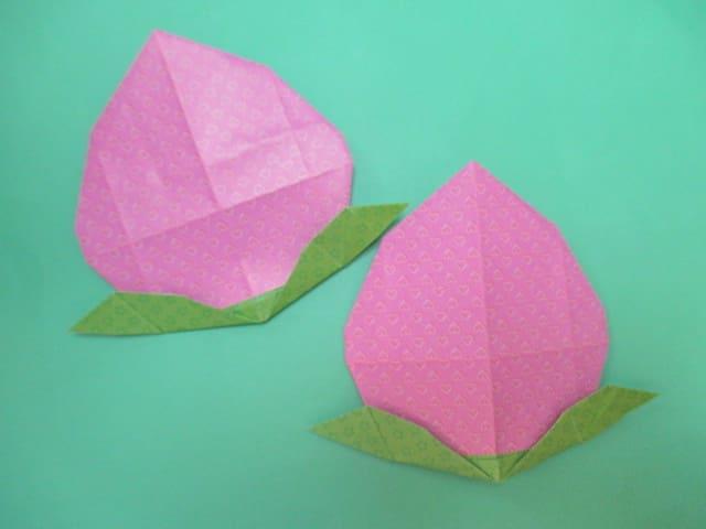 簡単 折り紙 折り紙 桃 : blog.goo.ne.jp
