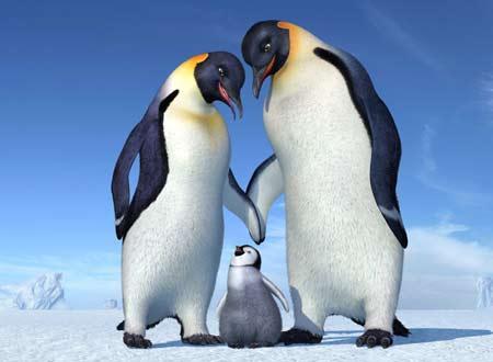 皇帝ペンギンたちが南極大陸を舞台に繰り広げるミュージカル仕立てのCGアニ...