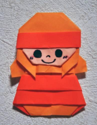 ハート 折り紙 : 折り紙 顔 折り方 : blog.goo.ne.jp