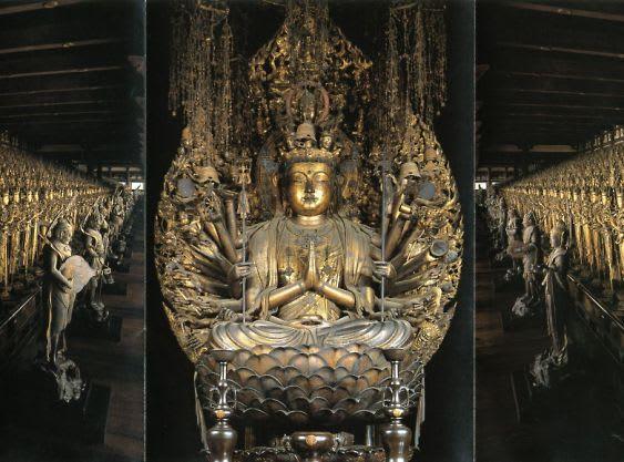 京都東山、蓮華王院。三十三間堂の名で知られるこの仏堂は、後白河上皇(在... 三十三間堂