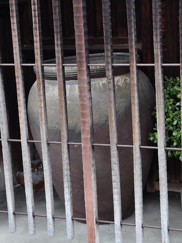 中井家住宅の大甕
