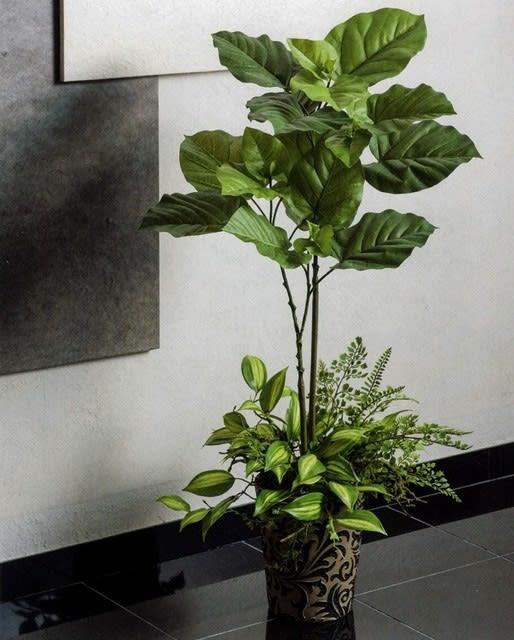フェイクグリーン造花観葉植物 ウンベラータ