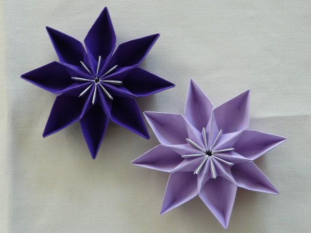 すべての折り紙 折り紙 クレマチス : えつこのマンマダイアリー