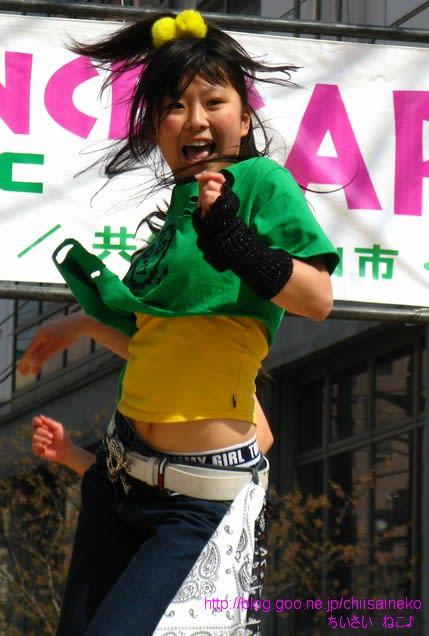 動きがよかったのはもちろんですが、表情もすっごく可愛くて、めちゃめちゃ... 松山春祭りCHIF