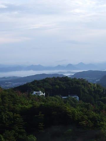 有馬富士の雲海