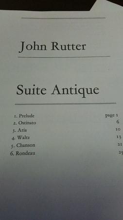 john rutter suite antique pdf