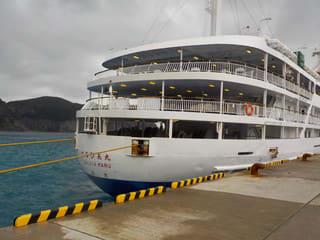幻の式根島旅行 東海汽船で船の旅