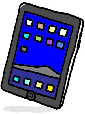 iPadのイラスト iPadの本体 ... : 絵 羊 : すべての講義