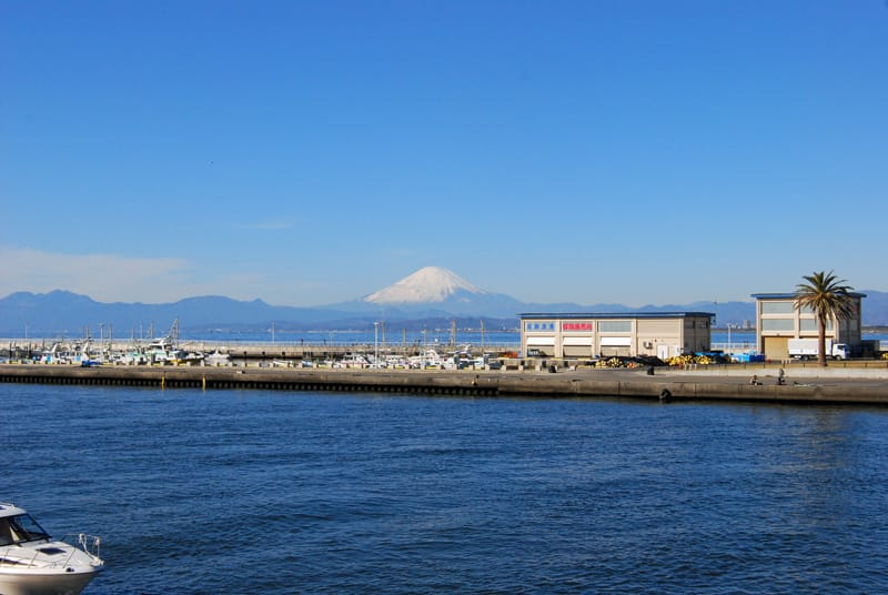 江の島弁天橋の富士 - 鵠沼・昔 ...