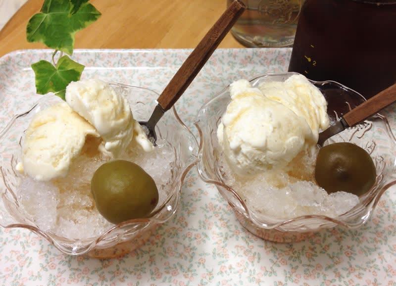 すべての折り紙 折り紙でしおりの作り方 : 梅シロップ と アイスクリーム ...