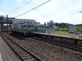 キハ40系@木古内駅