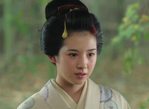 桜庭ななみ 日本髪