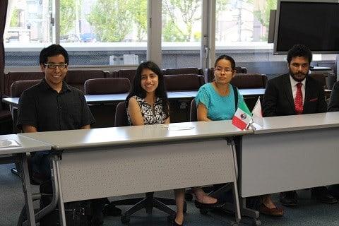 国際友好都市メキシコ・クエルナバカ市のモレロス大学から研修生がやってきました!