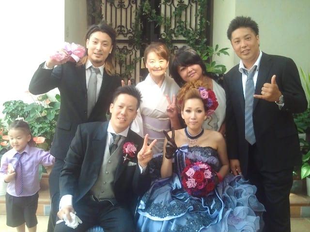 【甥っ子の結婚式】