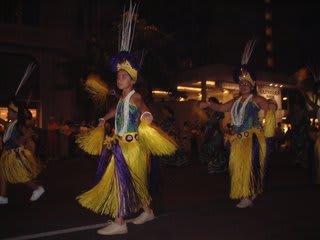 ハワイ1日目パレード1