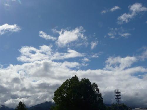 松本の青空