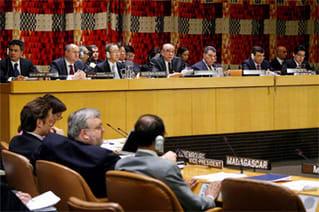 <報告>国連経済社会理事会等特別ハイレベル会合(4月14日)