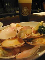 平貝の白ワイン蒸し