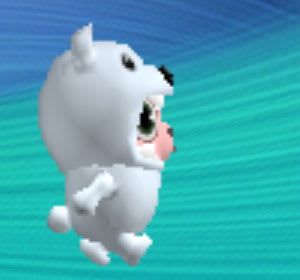 クマなひつじのしつじくんが歩く