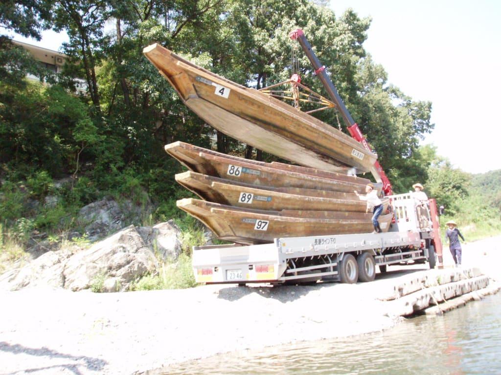 ボートの搬送
