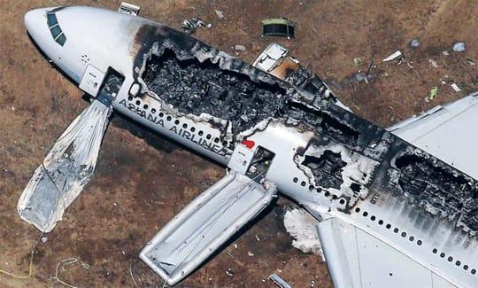 韓国アシアナ航空機事故:調査め...