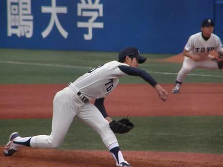 原 樹理(東洋大姫路) 東都大学野球2012年春季リーグ 東洋大VS ...