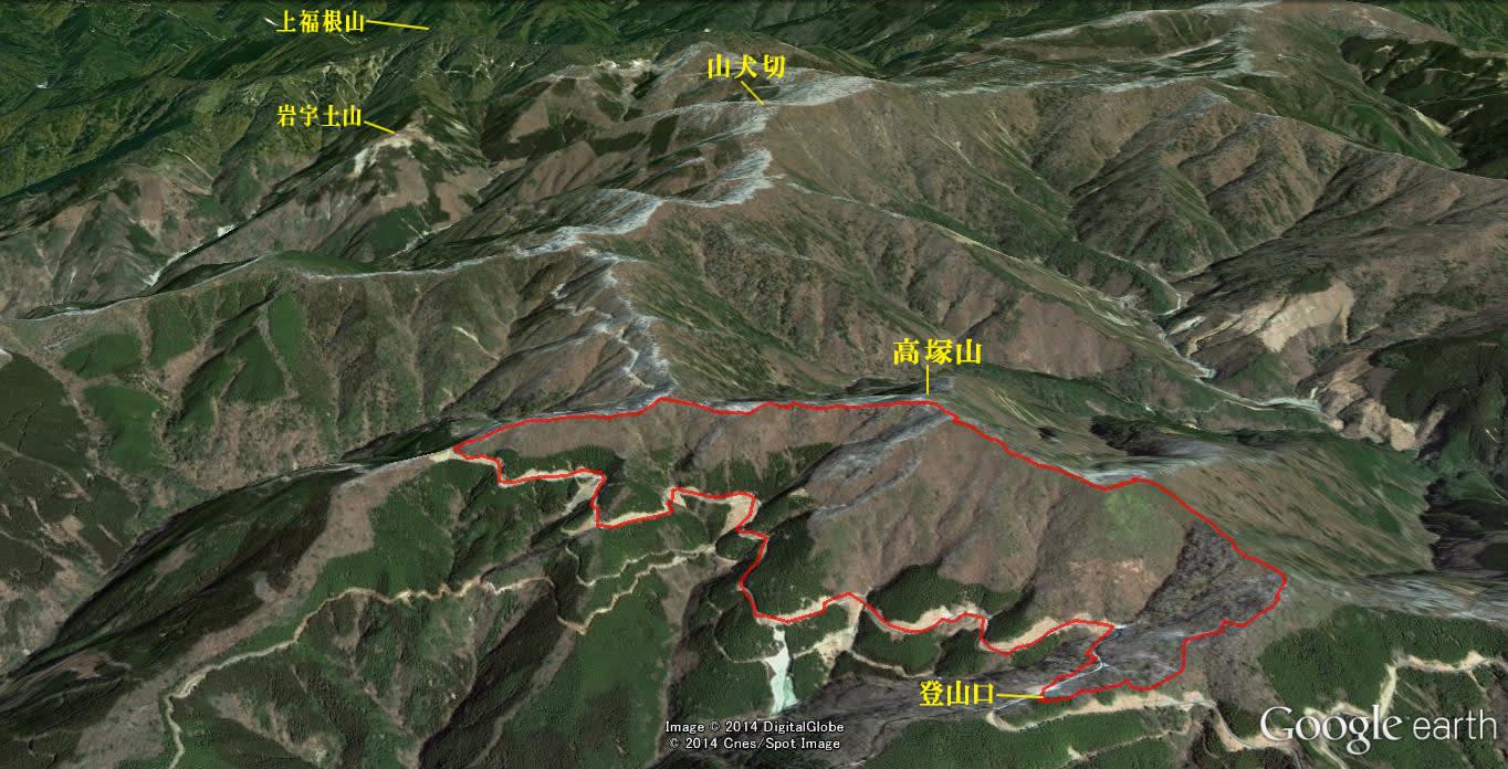 五木村の高塚山に登ってきました。 - バボザル