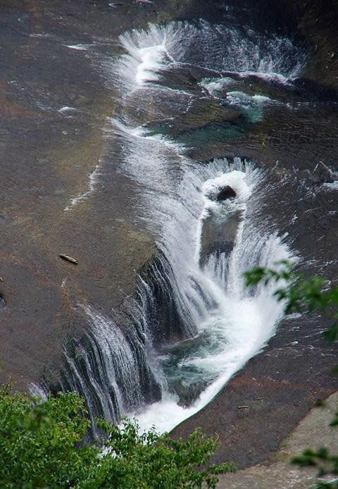 吹割渓谷・第一観瀑台