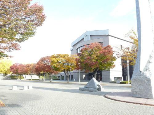 長野県松本文化会館近辺の紅葉