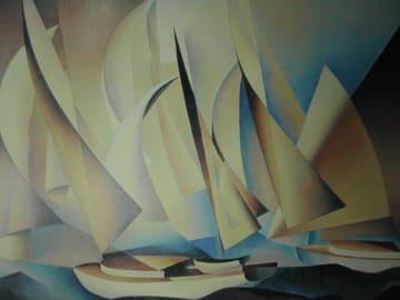 チャールズ・シーラー「ヨットとヨットレース」