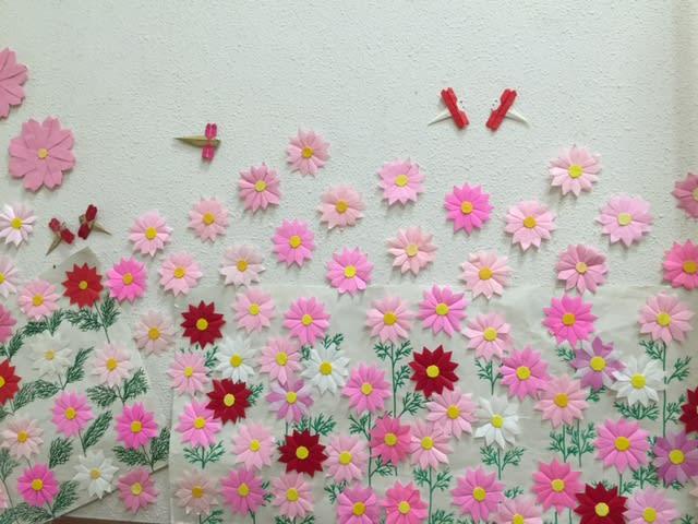 すべての折り紙 折り紙 コスモス : 素敵な折り紙♪ - すずらんの ...