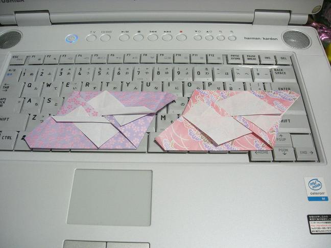 すべての折り紙 長方形 折り紙 鶴 : 2008年11月のブログ記事一覧(6 ...