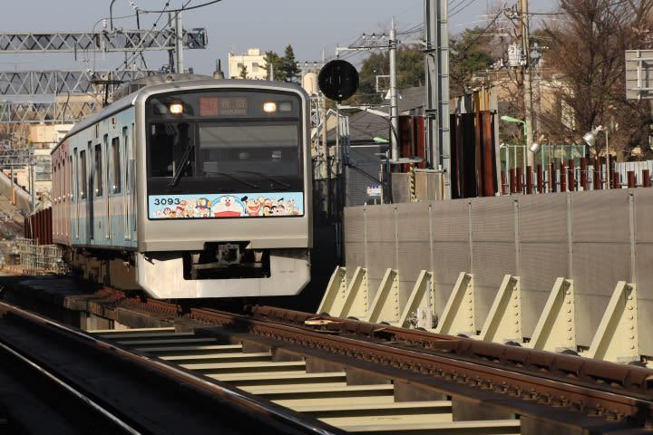 工事区間を往くF-Train  Ⅱ