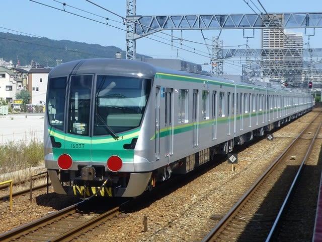 東京メトロ16000系後打ち
