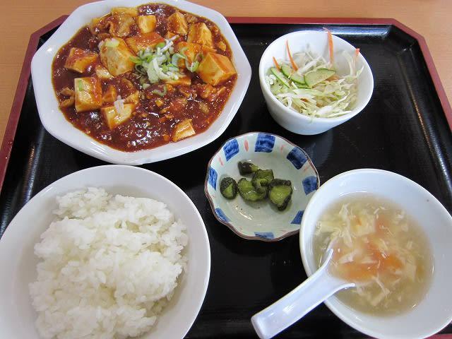Aランチ(麻婆豆腐)
