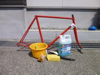 ... 塗装剥離 - Kinoの自転車日記