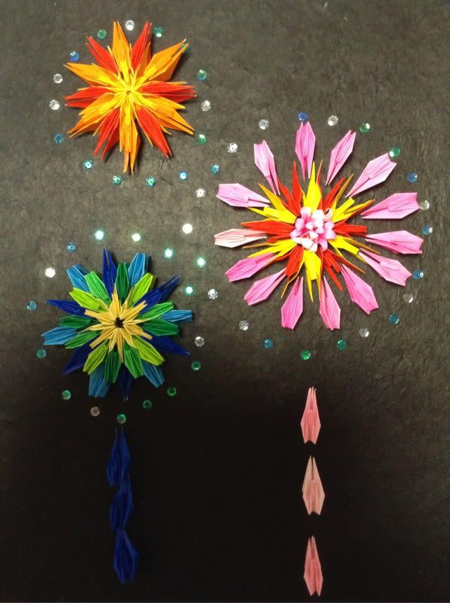 すべての折り紙 夏の折り紙 簡単 : 折り紙】【8月】夏祭り ...