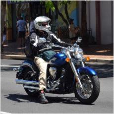 バイク乗ってる人はドM?