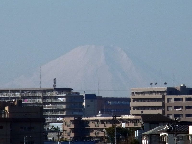 12月28日 富士山