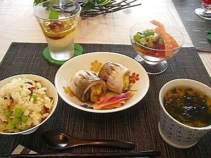 6月も中旬となりました。 slowly kitchenでは、6月は和食を... 6月の和食おもて